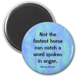 anger proverb refrigerator magnets