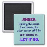anger rethink it refrigerator magnets