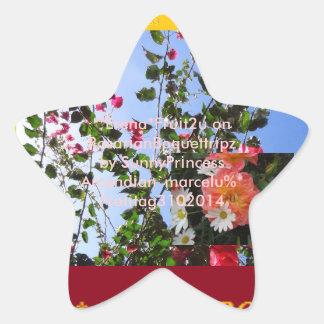 Angeroze*Erenafru¡ttr¡pz* Star Sticker