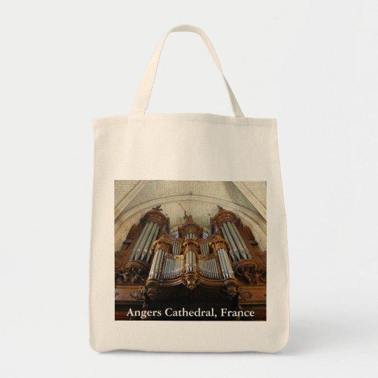 Angers Cathedral organ Tote Bag