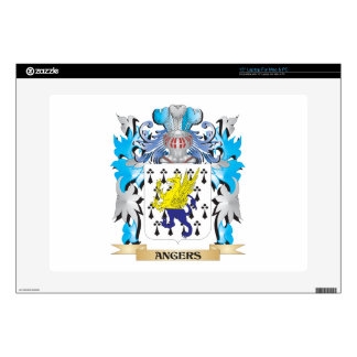 """Angers Coat Of Arms Decal For 15"""" Laptop"""
