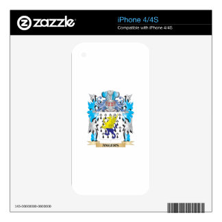 Angers Coat Of Arms iPhone 4 Skins