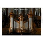 Angers organ, France Card