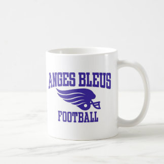 Anges Bleus HellMett Classic White Coffee Mug