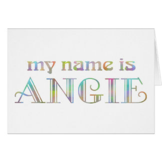 Angie Card