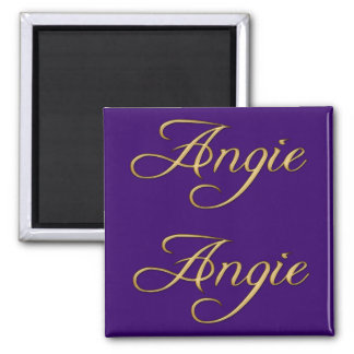 ANGIE Name-Branded Gift Magnet