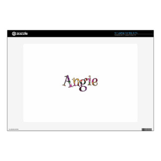Angie's Colorful Fun Decal For Laptop