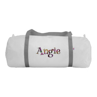 Angie's Colorful Fun Gym Bag
