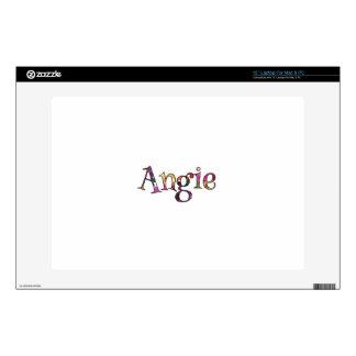 Angie's Colorful Fun Laptop Skin