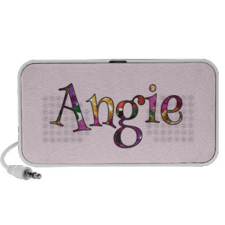 Angie's Colorful Fun Notebook Speaker
