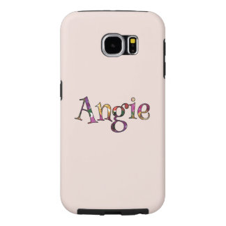 Angie's Colorful Fun Samsung Galaxy S6 Cases