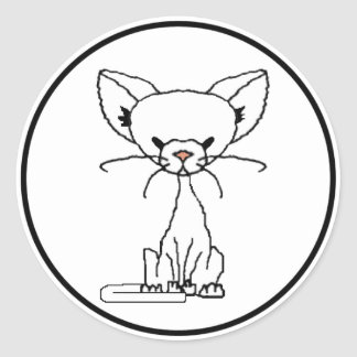 Angie the Cat Sticker (Meet the Mews)