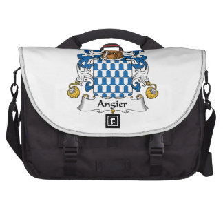 Angier Family Crest Computer Bag
