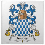 Angier Family Crest Napkin