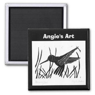 "Angie's Art ""Humming Bird"" Magnet"