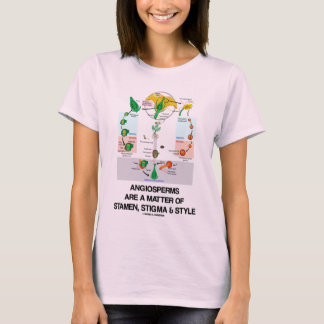 Angiosperms Are A Matter Of Stamen Stigma Style T-Shirt