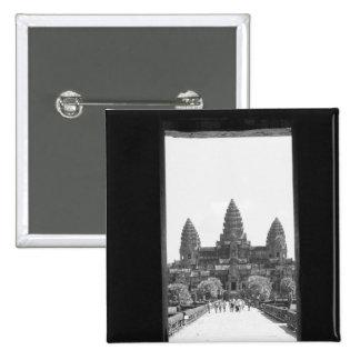 Angkor Cambodia, Angkor Wat Doorway View 2 Button