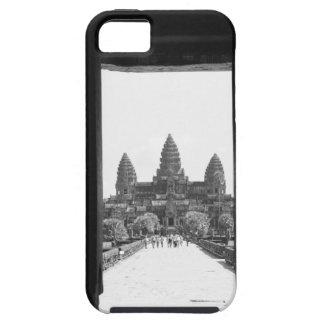 Angkor Cambodia, Angkor Wat Doorway View 2 iPhone SE/5/5s Case