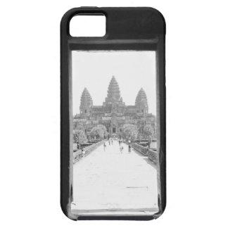 Angkor Cambodia, Angkor Wat Doorway View iPhone SE/5/5s Case