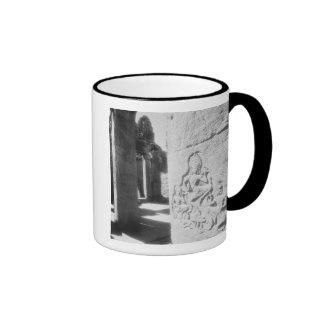 Angkor Cambodia Apsara Carving The Bayon 2 Mugs