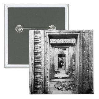 Angkor Cambodia, Doorways Preah Khan Button