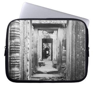 Angkor Cambodia, Doorways Preah Khan Computer Sleeve