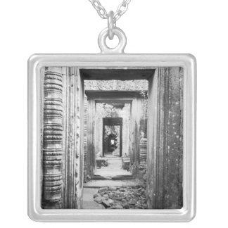Angkor Cambodia, Doorways Preah Khan Silver Plated Necklace