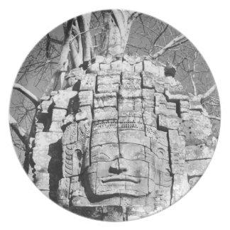 Angkor Cambodia, Head Ta Som Temple Party Plates