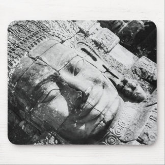 Angkor Cambodia, Head The Bayon Mouse Pad