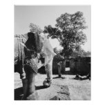 Angkor Cambodia, Pre Rup Temple 2 Print