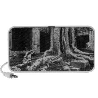 Angkor Cambodia, Ta Prohm Tree Portable Speakers