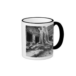 Angkor Cambodia, Ta Prohm Tree Ringer Mug