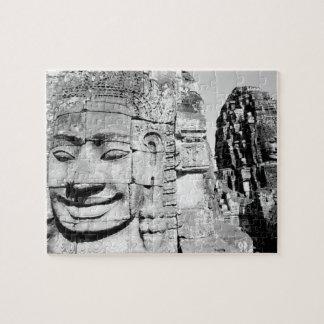 Angkor Camboya, cabezas el Bayon Rompecabezas Con Fotos