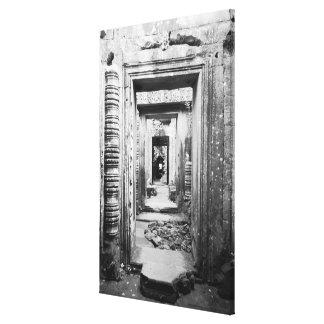 Angkor Camboya, entradas Preah Khan Impresiones En Lienzo Estiradas