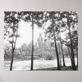 Angkor Camboya, vista del Bayon Impresiones