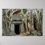 angkor de los templos póster