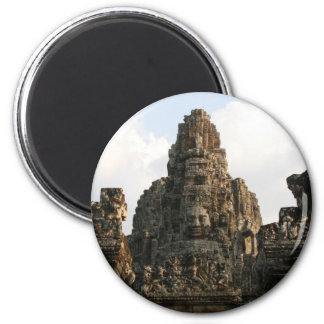angkor face 2 inch round magnet