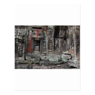 Angkor Kingdom temple ruins Siem Reap Postcard