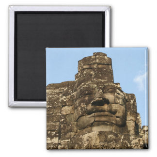 angkor rocky face 2 inch square magnet