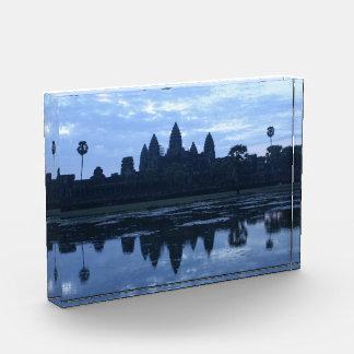 angkor sunrise blue acrylic award