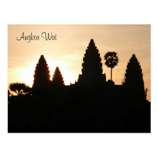 angkor sunrise postcard