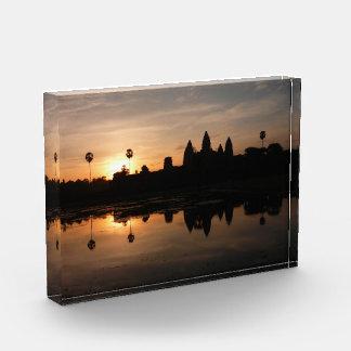 angkor sunrise reflections acrylic award