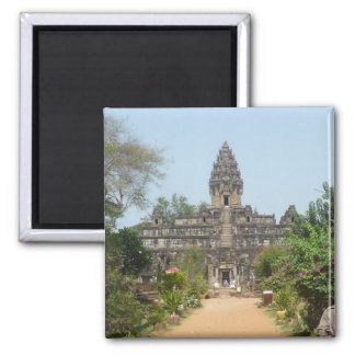 angkor temple 2 inch square magnet