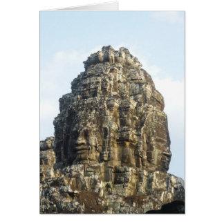 angkor thom faces card