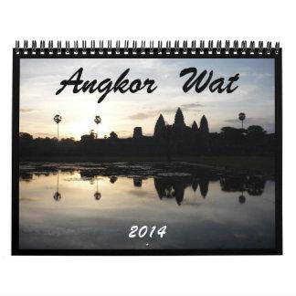 Angkor Wat 2014 Calendario