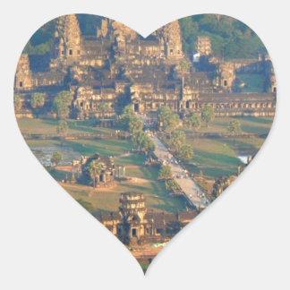 -Angkor-WAT-Angie. Heart Sticker