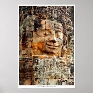 """Angkor Wat Big Buddha"" 16x20 Poster"