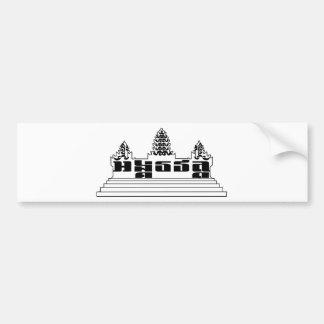 Angkor Wat bumper sticker