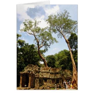Angkor Wat, Cambodia 2009 Card