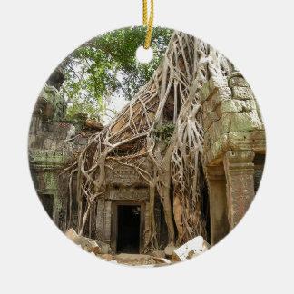 Angkor Wat Cambodia Ceramic Ornament
